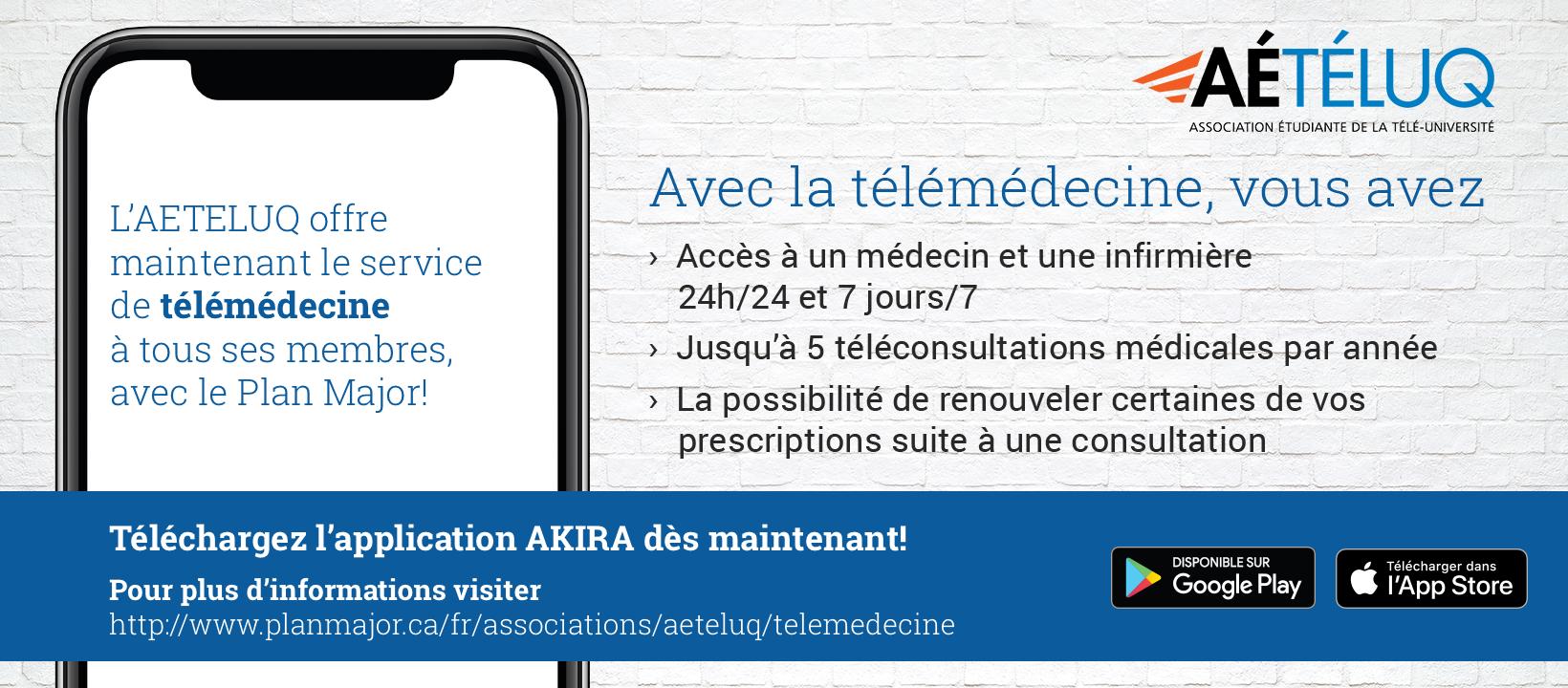 Service de télémédecine de l'AÉTÉLUQ